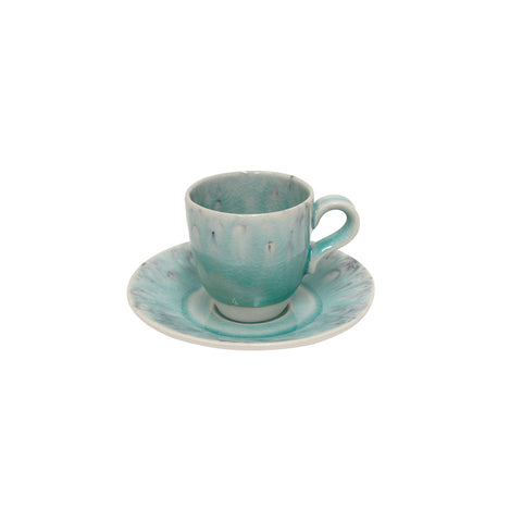 Madeira Coffee cups by Costa Nova Tableware, Shop Online Costa Nova Tableware, Coffee cups blue Madeira