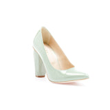 Diamond Pump Arctic Mint by GUAVA. Portuguese shoes at by-PT.com