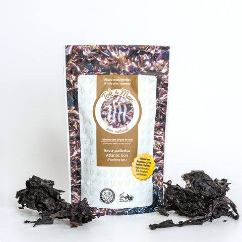 Whole Dried Seaweed Laver, Algas secas inteira erva patinha Tok de Mar by ALGAplus at by-PT.com