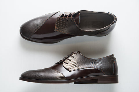 Picture of Derby man shoes DALI collection by Marita Moreno. Shop online at by-PT.com