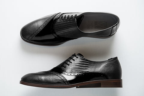 Picture of Oxford man shoes DALI collection by Marita Moreno. Shop online at by-PT.com