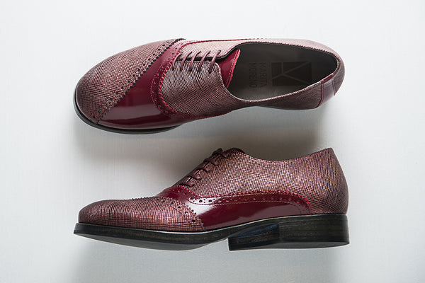 Picture of Oxford woman shoes DALI collection by Marita Moreno. Shop online at by-PT.com
