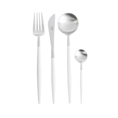Shop online Cutipol Goa Cutlery white