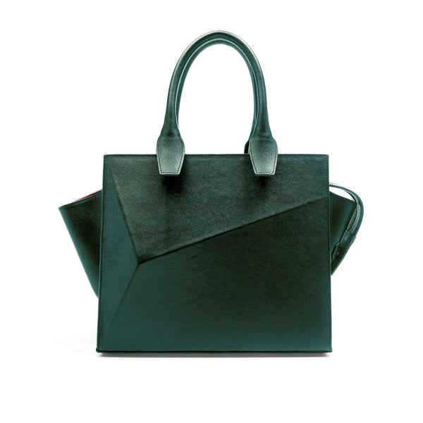 Mini City Bag Emerald Green by Guava at by-pt.com fashion lifestyle online shop leather design