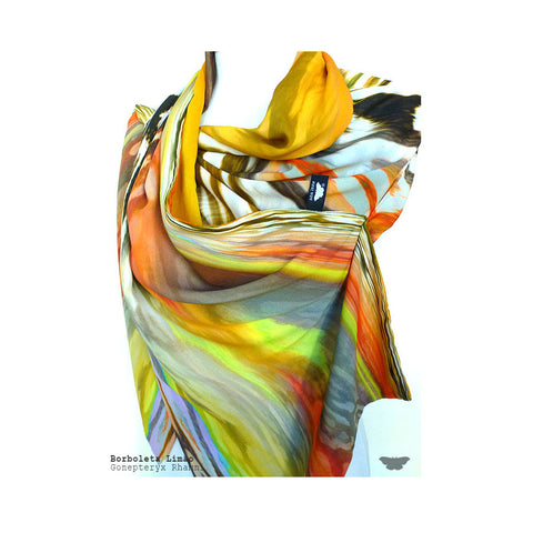 Women Acsessories Scarves Colours Borboleta Limão Ana Leite Fashion Design Portuguese Lifestyle Online Shop Mode
