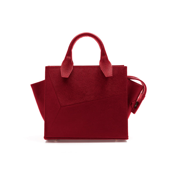 Mini City Bag Lipstick red by Guava at by-pt.com fashion lifestyle online shop leather design