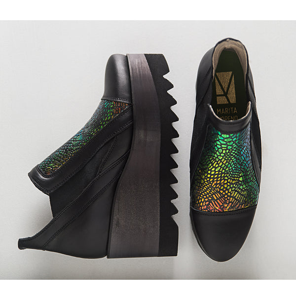Marita Moreno Dark Tower Multicolor women shoes at by-PT online store, sapatos de senhora