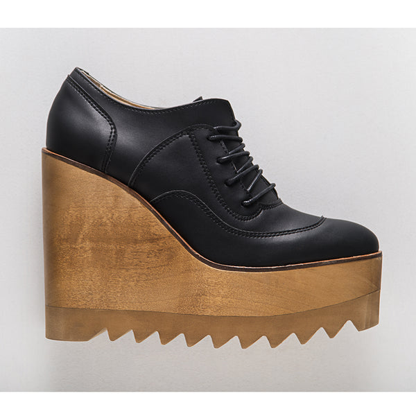 Marita Moreno Magrite Black Wood women shoes at by-PT online store, sapatos de senhora