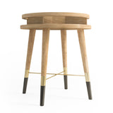 MEIBEL side table by LINECRAFT. Shop at by-PT.com lifestyle furniture.