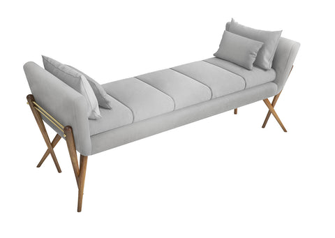 NUKIE Bench by LINECRAFT. Shop at by-PT.com lifestyle furniture.