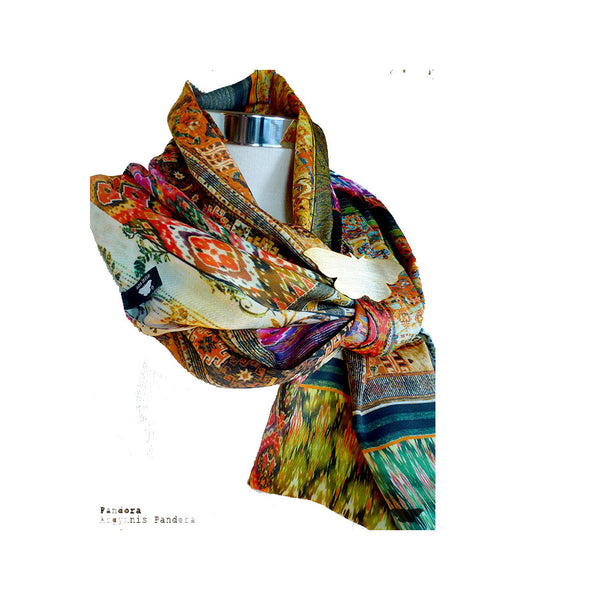 Women Accessories Ana Leite Scarves Colours Fashion Design Portuguese Lifestyle Online Shop Mode Present Pandora