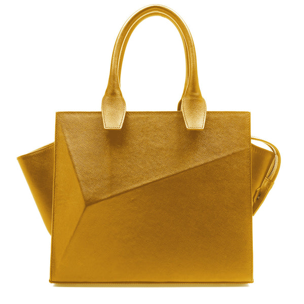 City Bag lemon zest by Guava at by-pt.com fashion lifestyle online shop leather design