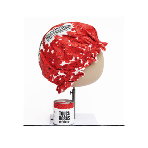 Roses Shower Cap