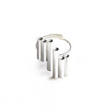 Sterling Silver BELIEVE mood ring by Ana Bragança Jewellery at by-PT online store, anel em prata