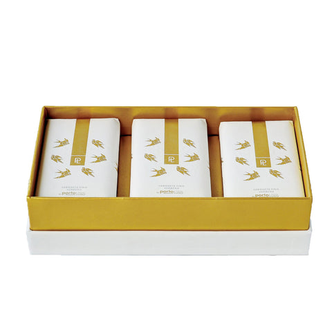 Swallows Collection Soaps Box by PortoLuso Caixa de sabonetes coleção andorinha da PortoLuso at by PT online store