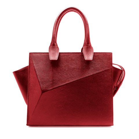 City Bag Lipstick red by Guava at by-pt.com fashion lifestyle online shop leather design