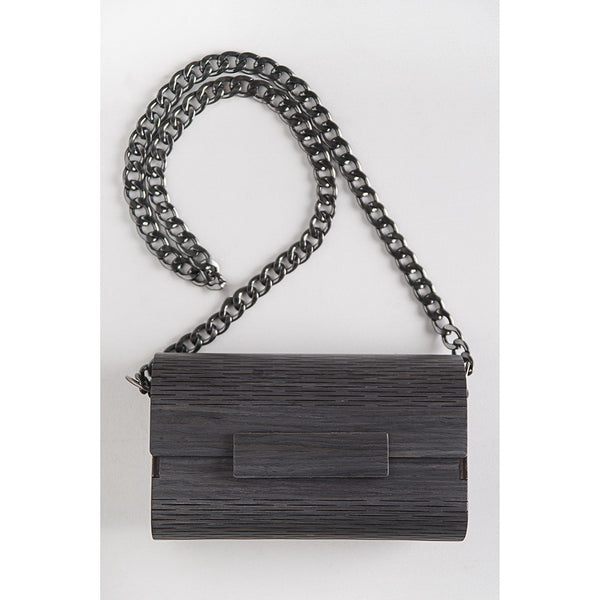 SHOULDER CLUTCH CARVALHO GREY by Marita Moreno