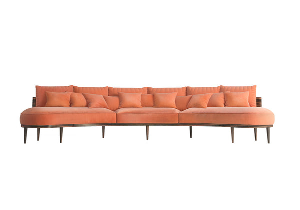 Carnelian sofa by MURANTI is beautiful. Shop online luxury furniture at by-pt.com
