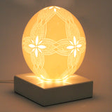 Table lamp 89 by Ovodecor an ostrich egg handcrafted by an artisan at by-PT online store