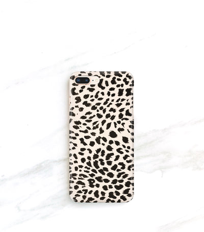Cheetah print case for iPhone 8 plus