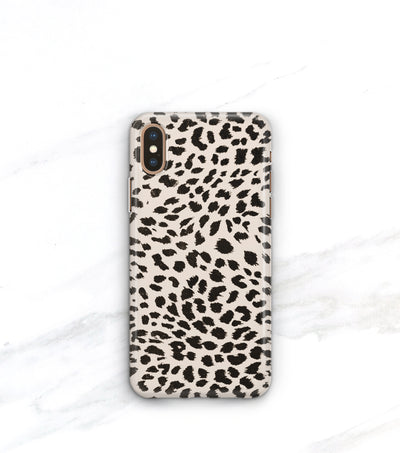 animal print cheetah spots iPhone xs max case