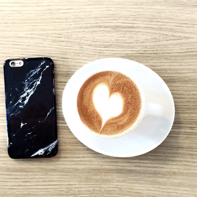 Black Marble Case | iPhone