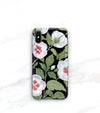 hawaiian flower case for iPhone xs max