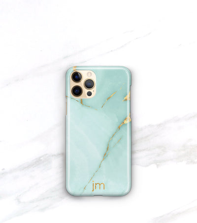 personalized iphone 12 pro case aqua onyx