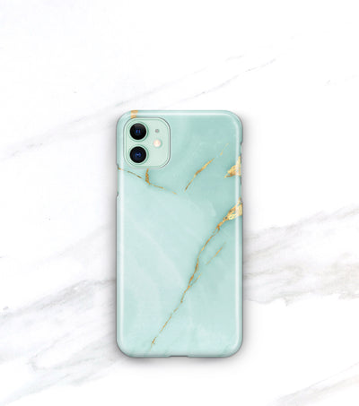 aqua marble onyx iphone 11 case