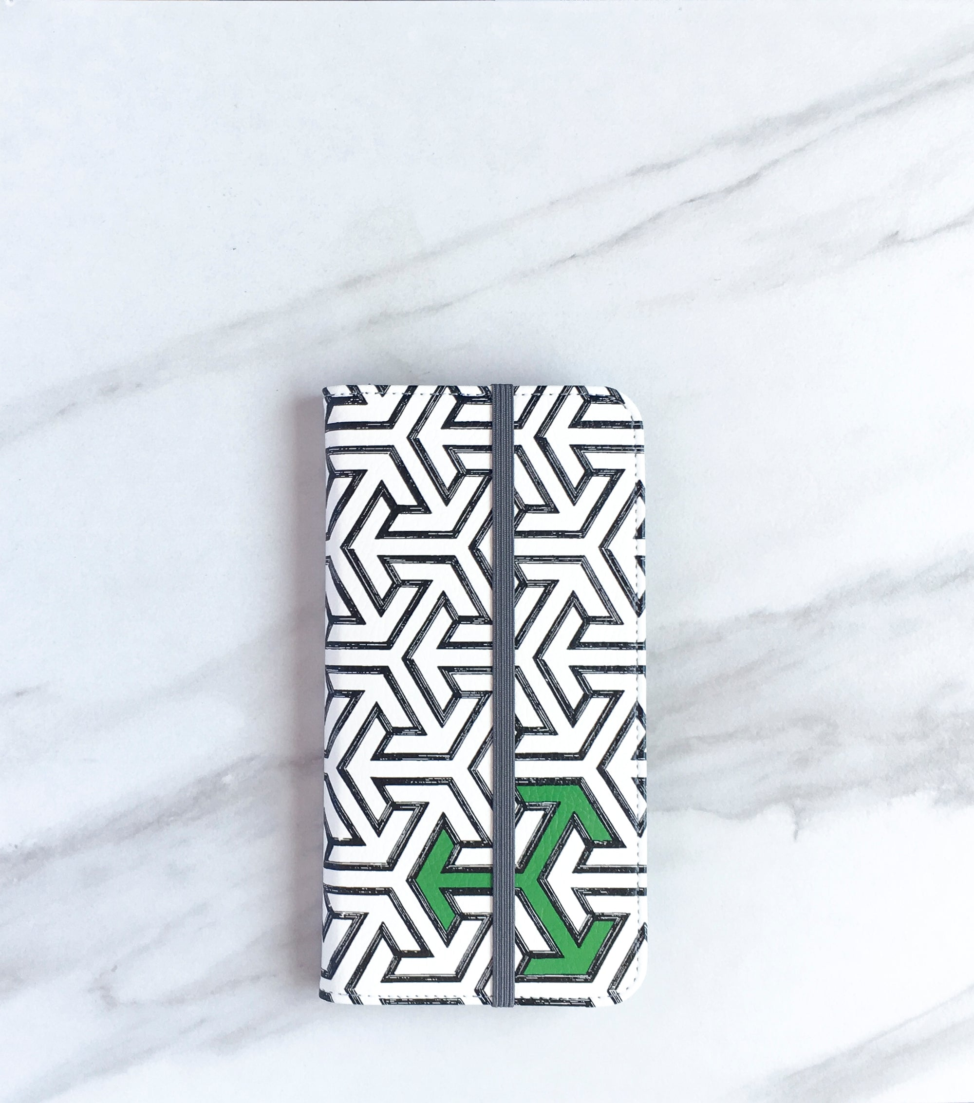Green for Go Arrows Wallet case