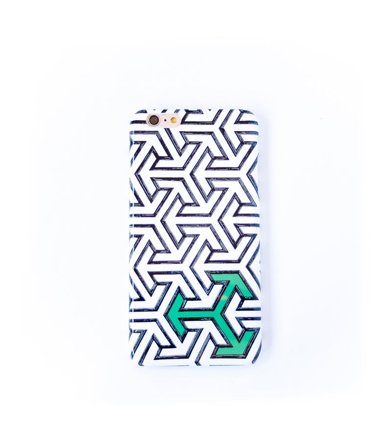 Green for Go iPhone slim case