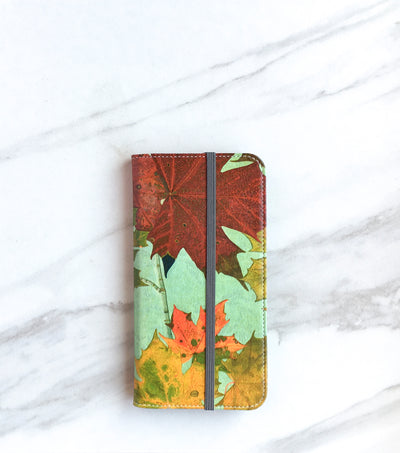Autumn Leaves Wallet case