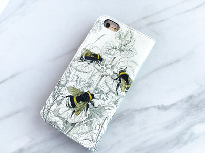 Bees iPhone 7s Wallet case
