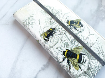 Bees Wallet case side view