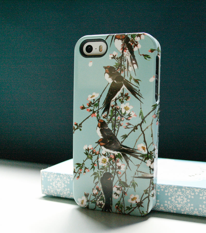 swallows iPhone xs phone case