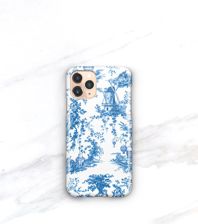 Blue Toile Case | iPhone 11
