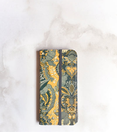 Bohemian Wallet case for iPhone with strap