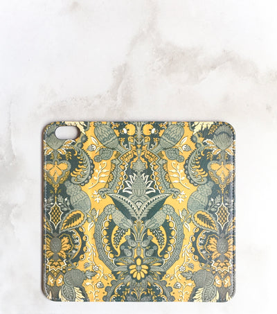 Bohemian Wallet case for iPhone full view