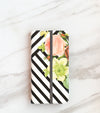 Bouquet Stripes Wallet case