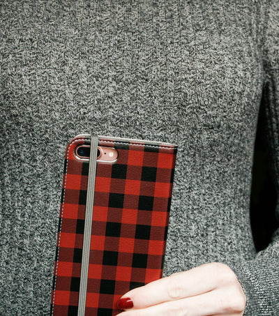 Buffalo Plaid Wallet Case