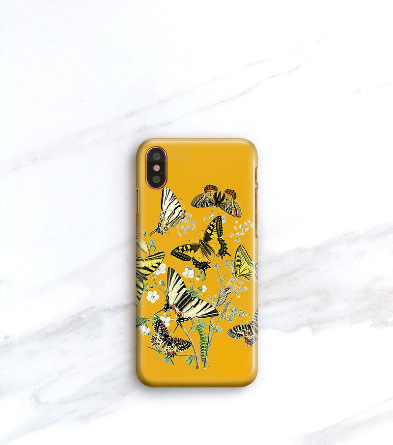 Butterfly case with initial