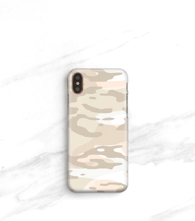 modern camo print iPhone xs max case