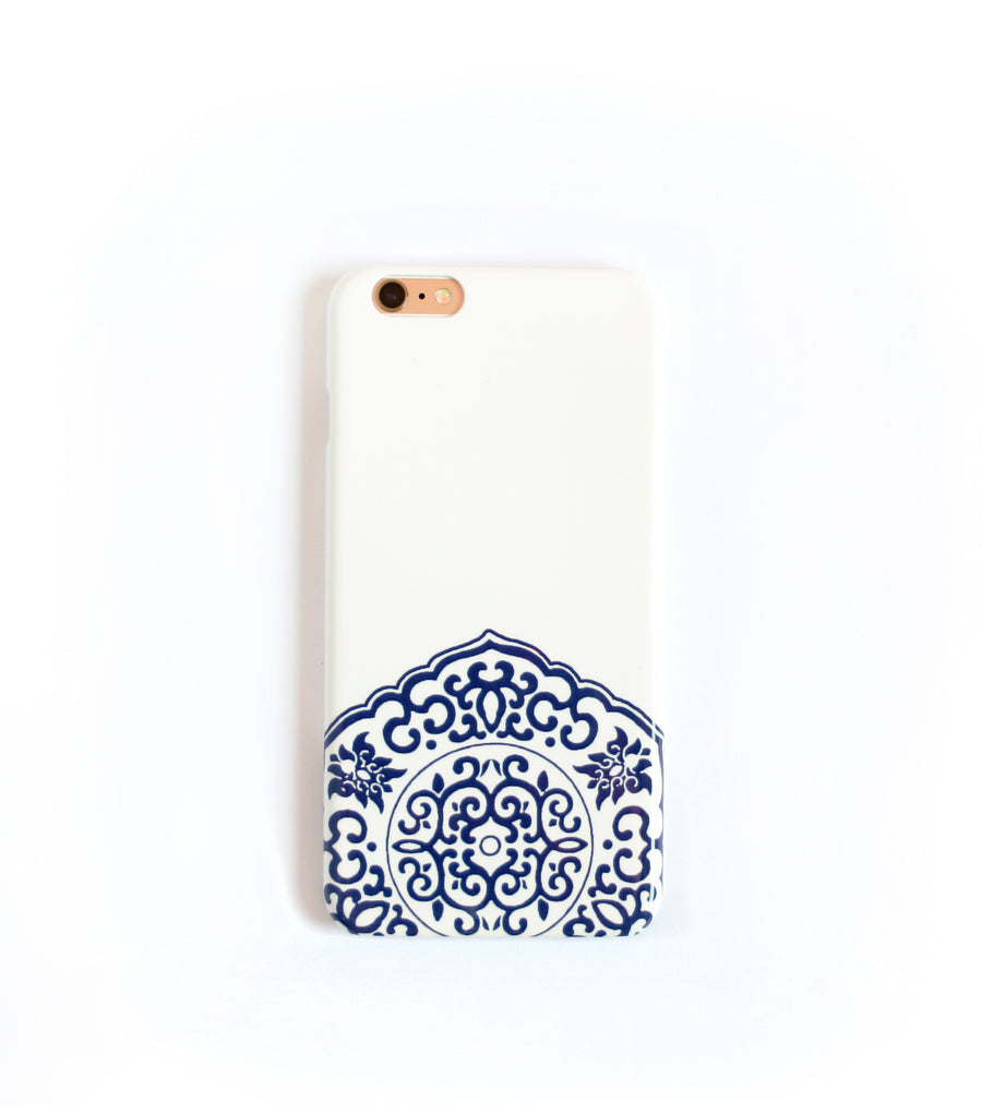 blue white iPhone xs max case