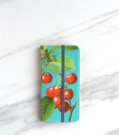 Cherry Wallet front view for iPhone
