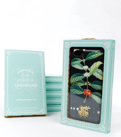 Coffee iPhone case with gift box
