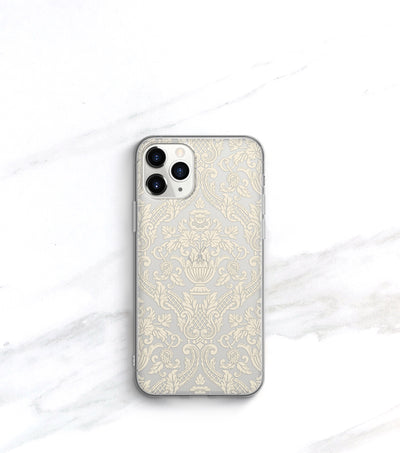 Damask Clear Case | iPhone