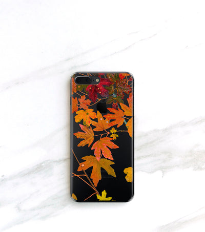 fall foliage case for iPhone