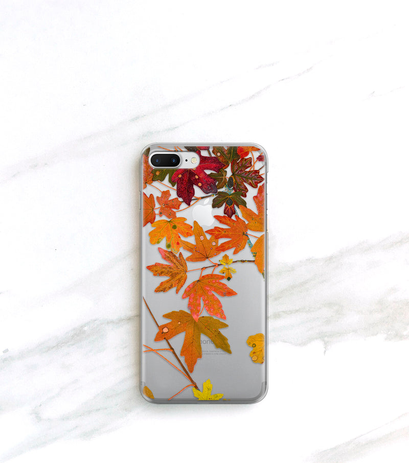 Fall leaf case for iPhone 7 Plus