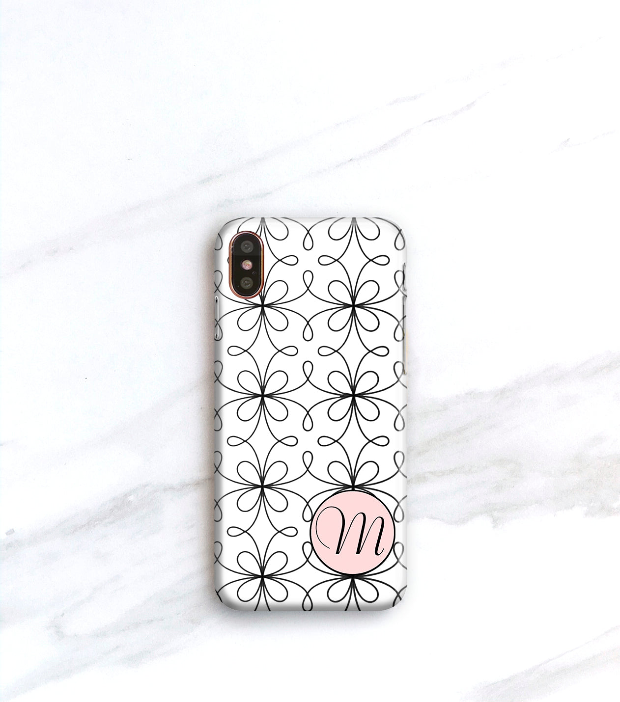 french pink iPhone xs max case