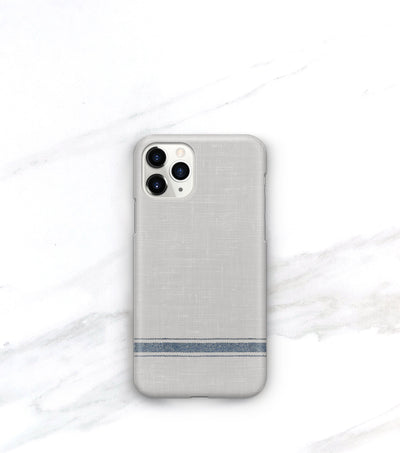 French striped iphone 11 pro max case with matte finish